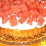 Tærte med vandmelon